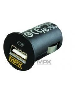 Multiplex 145533 USB adaptor input 12V/output 5V DC/2.1A