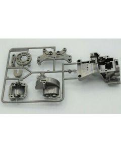 Tamiya 0005598 B parts - Motor mount,Diff Case, Bulk Head Grey