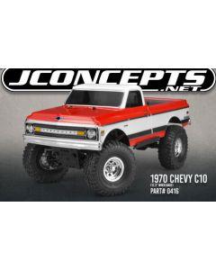 Jconcept 0416 1970 CHEVY C10 | K10 CLEAR BODY 1/10 CRAWLER (fit TRX-4, ENDURO, AXIAL)