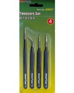 Master Tools 09957 Tweezer Set