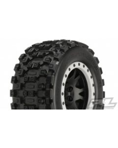 Proline 10131-13 Badlands MX43 Pro-Loc All Terrain Tires Mounted (2pcs) for X-MAXX Front or Rear