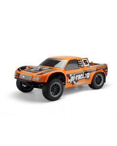 HPI 104865  BAJA 5SC-1 SHORT COURSE TRUCK CLEAR BODY (TRIMMED), DECALS INCLUDED 1/5