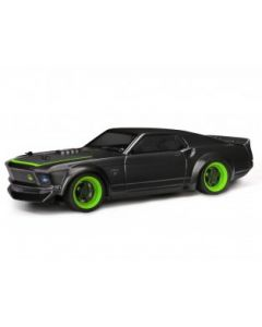 HPI 113081 - 1969 FORD MUSTANG RTR-X PAINTED BODY (140mm) 1/16