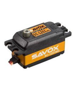 Savox 1251MG Low Profile High Speed Metal Gear Digital Servo