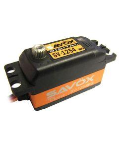 Savox 1254MG Low Profile Digital Servo 25T, 7.4V 15Kg