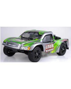 HBX 12885 IRON HAMMER,  2WD, BRUSHED, 1/12 SHORT COURSE