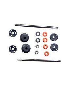 XTM 149156 Shock Rebuild Kit w/Shafts - X-Cellerators Rear