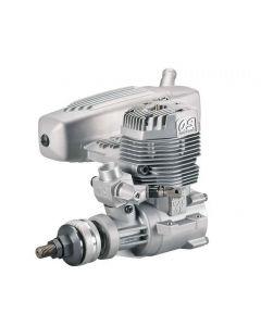 OS 17400  MAX 75AX Nitro Aircraft Engine, .75 Size w/ E-4040 Silencer