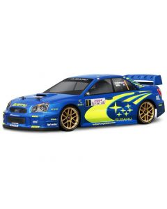 HPI 17505   2004 SUBARU IMPREZA WRC CLEAR BODY (200mm) 1/10