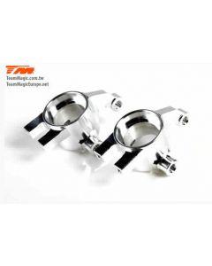 K Factory 2156S MF Alloy Steering Block silver E4D