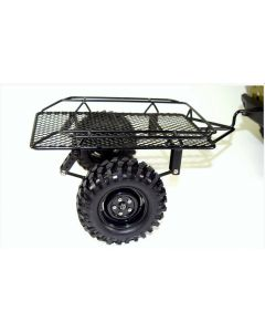 """Absima 2320081  Metal trailer 1/10 with 1.9"""" Wheel and Tires"""
