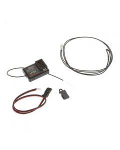 Hitec 27625 Proton 4E Receiver w/ Telemetry