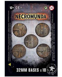 Citadel 35-16 Necromunda 32mm Bases  (99070599002)