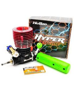 Hobao 3032T HYPER .30-3P TURBO ENGINE w/ COPS PULL STARTER, w/ TURBO GLOW PLUG No.5