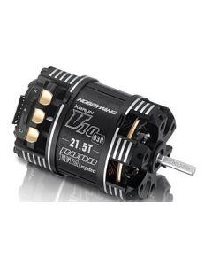 HOBBYWING 30401132 XERUN-V10-21.5T-BLACK-G3R SENSORED BRUSHLESS MOTOR, 1/8 SHAFT 1/10