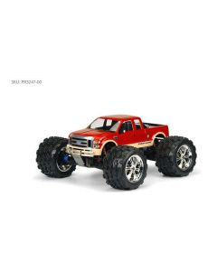 PROLINE 3247-00 2008 FORD F-250 CLEAR BODY for SOLID AXLE MONSTER TRUCK