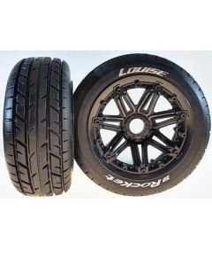 Louise LT3266B B-Rocket 1/5 Front Wheel and Tyre