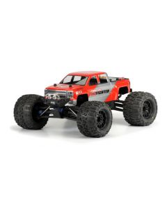 PROLINE  3430-00 2014 CHEVY SILVERADO CLEAR BODY suit 1/8th MONSTER TRUCK