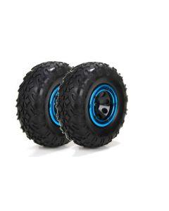 ECX 41003  Front Or Rear Premount Tire (2), for 1/24 Crawler Temper