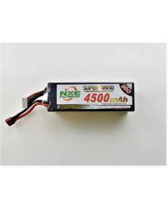 NXE 4500HC506SDEAN 4500mAh 50C 6S Lipo Battery Hard Case Deans 22.2V