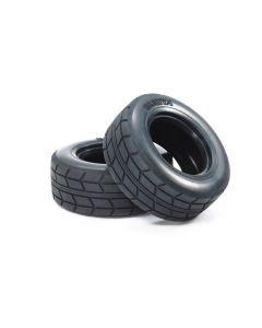 "Tamiya 51589 On-Road Racing Truck Tires 2.7"", 26mm 2pcs No Insert"