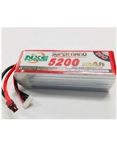 NXE 2200SC403SDEAN 22.2V 5200mAh 50C Lipo Battery w/Deans plug