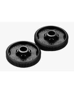 Tamiya 53413 Tb-01 0.4 Spur Gear 72t  Evolution 2pcs