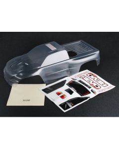 Traxxas 5387 Clear Body, Revo® 3.3 / Window, Lights, Grille decal sheet 1/10 MT