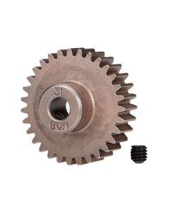 Traxxas 5638 Pinion Gear, 31T(0.8 metric pitch, compatible with 32-pitch) (fits 5mm shaft)/ set screw