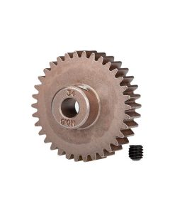Traxxas 5639 Pinion Gear, 34T (0.8 metric pitch, compatible with 32-pitch) (fits 5mm shaft)/ set screw