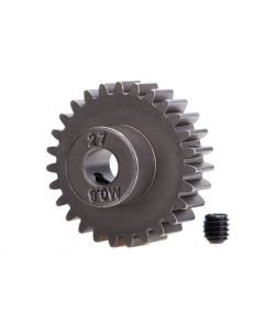 Traxxas 5647 Pinion Gear, 27T (0.8 metric pitch, compatible with 32-pitch) (fits 5mm shaft)/ set screw