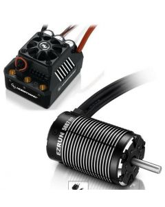Hobbywing 38010802 EZRUN Max5 Combo with 5687 1100KV Brushless Motor 1/5, 1/6