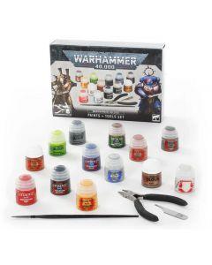 Games Workshop 60-12 Warhammer 40,000 Paints & Tools Set (60170199014)