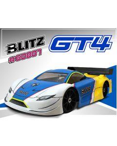 Blitz 60807-10  GT4 1/8 On-Road GT Clear Body