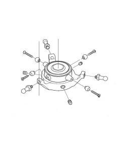 JR 60860 V120 Degree Swash Plate Assembly (Venture30/50)