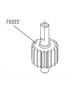 JR 70322 Pinion Tail (Belt Pulley) (Venture 30/50)