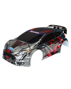 Traxxas 7416 Painted Body, Ford Fiesta® ST Rally (decals applied) 1/10 Short Course