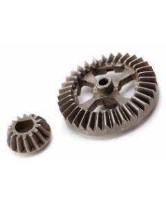 LATRAX 7683  Ring gear, Differential/ pinion gear, differential (metal) Latrax Hop-up