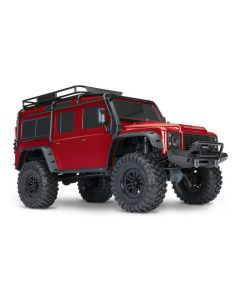 TRAXXAS 82056-4 TRX-4 SCALE & TRAIL CRAWLER LAND ROVER - RED RTR 1/10