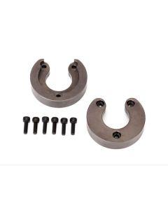 Traxxas 8267 Weight, portal housing, brass (34 grams) (2)/ 2.5x8 CS (6)