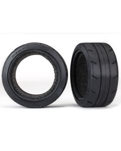 """Traxxas 8370 Tires, Response 1.9"""" Touring Semi Slick (extra wide (30mm), rear)/ foam inserts (2) 1/10"""