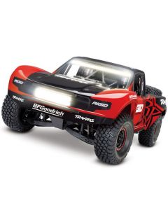 TRAXXAS 85086-4rgd UNLIMITED DESERT RACER 6S WD w/LIGHTS - RED  RTR 1/7