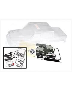 Traxxas 8825 Clear Body, Mercedes-Benz® G 63® ( requires painting)/ decals/ window masks 1/6