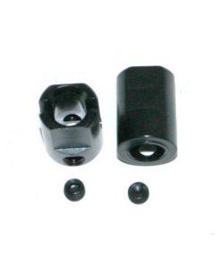 Hobao 89011 Steel Joint Cup, 2pcs 8SC EP