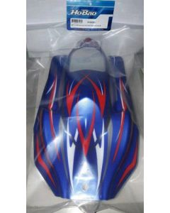 Hobao 90062BU Buggy Painted Body Hyper SS Electric Blue/ White 1/8