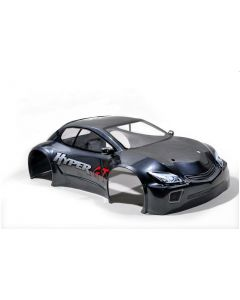 Hobao 90075DG HYPER GT NEW PAINTED BODY SHORT CHASSIS (GRAY) RALLY 1/8
