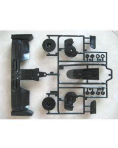Tamiya 9115267 J Parts: 51397/ 58447 (Front Bumper F60/ F104)