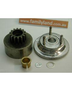 Ansmann 1150235 Clutch,Flywheel Set (Virus,Terrier)