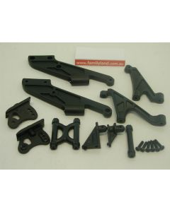 Ansmann 1150442 Wing Mount & Chassis Rods (Vapor)