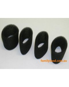 Eagle 257032 Air Filter Outer Foam .15 (4pcs)
